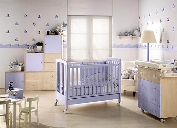 Pintura para cuarto de beb imagui - Dormitorios de bebes recien nacidos ...